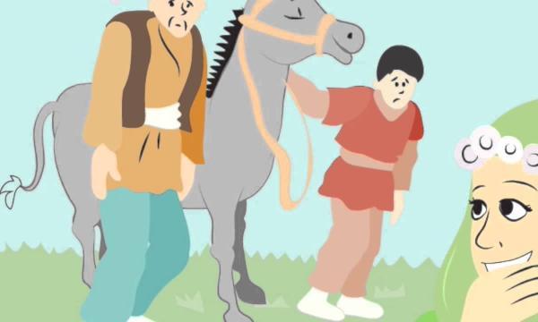 قصة جحا والحمار وابنه