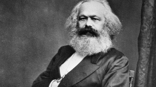كارل ماركس وأفكار الشيوعية والاشتراكية