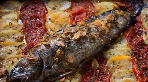 كيفية طبخ سمك سنجارى