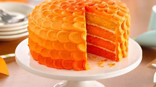 طريقة عمل كيك البرتقال بالخطوات وطرق التحضير بالتفصيل