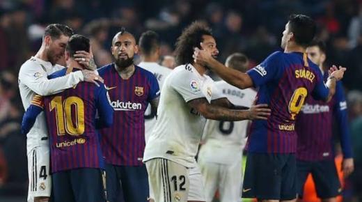 موعد مباراة برشلونة وريال مدريد الأربعاء 18-12-2019 والقنوات الناقلة | الدوري الإسباني