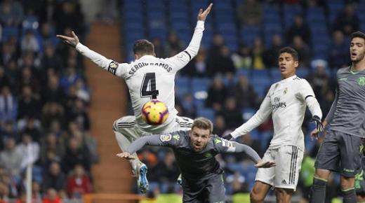 موعد مباراة ريال مدريد وريال سوسيداد السبت 23-11-2019 | الدوري الإسباني