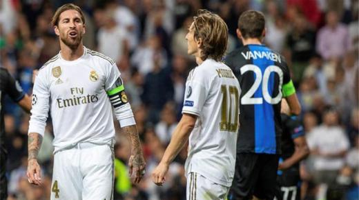 موعد مباراة ريال مدريد وكلوب بروج الأربعاء 11-12-2019 والقنوات الناقلة | دوري أبطال أوروبا