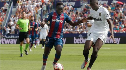موعد مباراة فالنسيا وليفانتي السبت 7-12-2019 والقنوات الناقلة | الدوري الإسباني