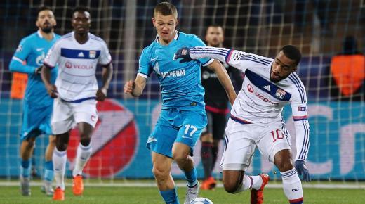 موعد مباراة ليون وزينيت الأربعاء 27-11-2019 والقنوات الناقلة | دوري أبطال أوروبا