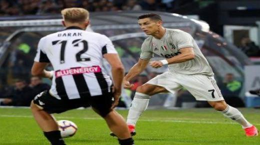 موعد مباراة يوفنتوس واودينيزي الأحد 15-12-2019 والقنوات الناقلة | الدوري الإيطالي
