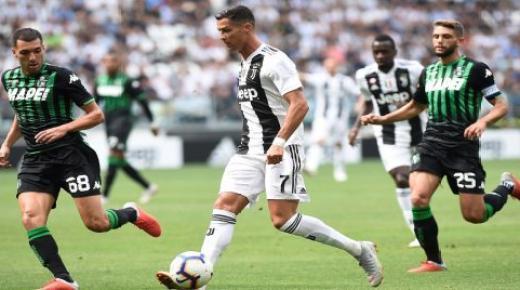 موعد مباراة يوفنتوس وساسولو الأحد 1-12-2019 والقنوات الناقلة | الدوري الإيطالي