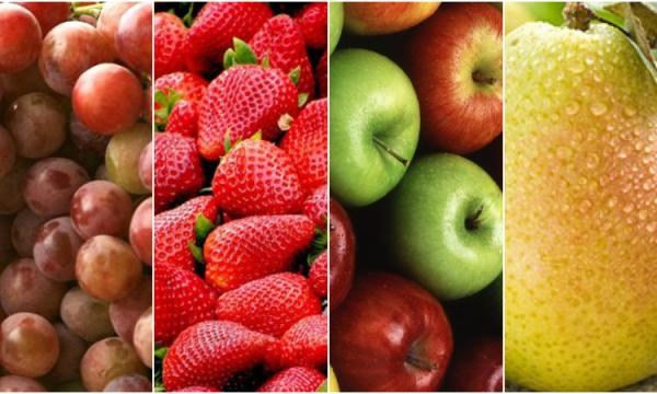 طريقة عمل مربى الفواكه باستخدام (العنب، الكمثرى، الفراولة، التفاح)
