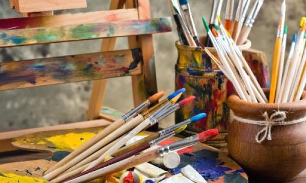 مشروع متجر لبيع أدوات الرسم