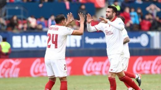 أهداف و ملخص مباراة اشبيلية واوساسونا اليوم الأحد 8-12-2019 | الدوري الإسباني