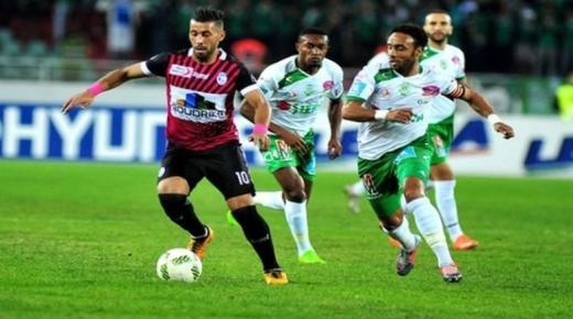 ملخص مباراة الرجاء وسريع وادي زم اليوم الأحد 15-12-2019 | الدوري المغربي