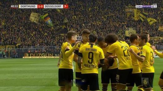 أهداف و ملخص مباراة بوروسيا دورتموند وفورتونا اليوم السبت 7-12-2019 | الدوري الألماني
