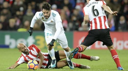 ملخص مباراة ريال مدريد وأتلتيك بلباو اليوم الأحد 22-12-2019 | الدوري الإسباني