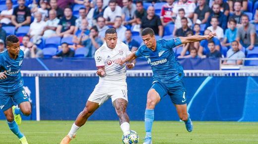 أهداف و ملخص مباراة ليون وزينيت اليوم الأربعاء 27-11-2019 | دوري أبطال أوروبا