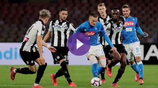 أهداف و ملخص مباراة نابولي وأودينيزي اليوم السبت 7-12-2019 | الدوري الإيطالي
