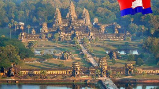 بم تشتهر مملكة كمبوديا ؟