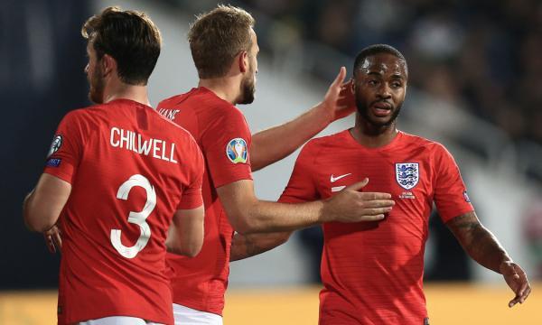 موعد مباراة إنجلترا والجبل الأسود 14-11-2019 بتصفيات يورو 2020 والقنوات الناقلة