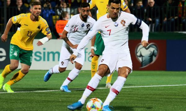 موعد مباراة البرتغال وليتوانيا 14-11-2019 بتصفيات يورو 2020 والقنوات الناقلة