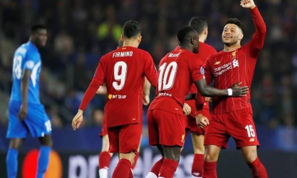 موعد مباراة ليفربول وجينك 5-11-2019 في دوري أبطال أوروبا والقنوات الناقلة
