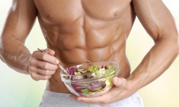 نظام غذائي لبناء العضلات وحرق الدهون