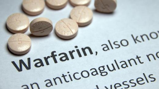 دواء وارفارين Warfarin لعلاج تخثر الدم