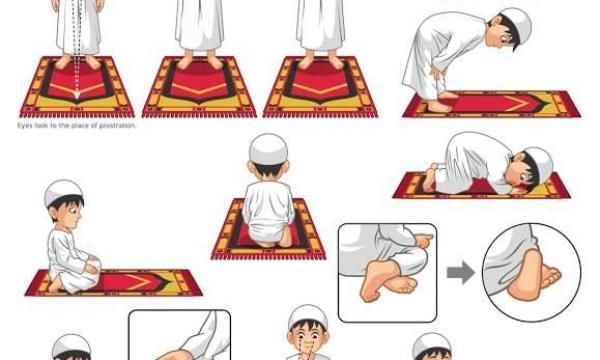 طريقة الصلاة الصحيحة