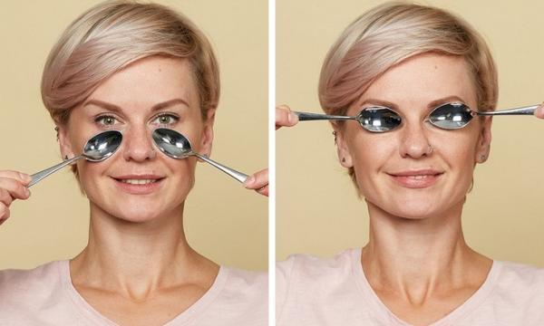 كيفية تدليك الوجه بالملعقة للتخلص من التجاعيد ومشاكل البشرة