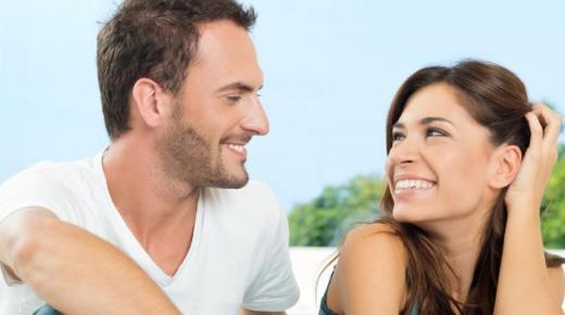 علامات الحب عند الرجل في علم النفس