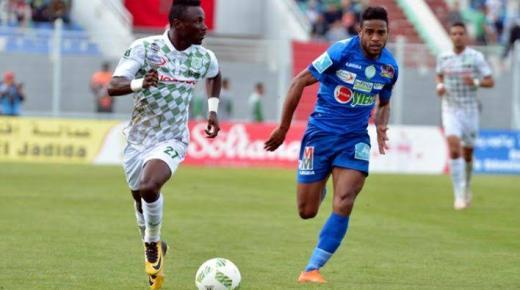 موعد مباراة الرجاء والدفاع الحسني الجديدي الثلاثاء 7-1-2020 والقنوات الناقلة   الدوري المغربي
