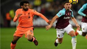 موعد مباراة ليفربول ووست هام الأربعاء 29-1-2020 والقنوات الناقلة | الدوري الإنجليزي