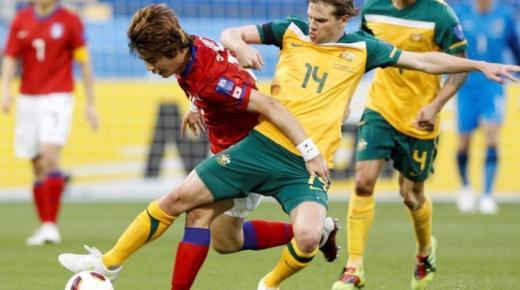أهداف و ملخص مباراة استراليا وكوريا الجنوبية اليوم الأربعاء 22-1-2020 | كأس آسيا 23 سنة