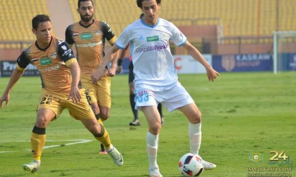 أهداف و ملخص مباراة الإسماعيلي والانتاج الحربي اليوم الخميس 30-1-2020 | الدوري المصري
