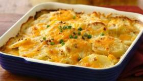 طريقة تحضير غراتان البطاطا بالجبن