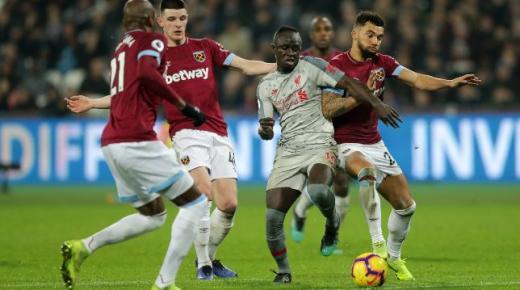 موعد مباراة ليفربول ووست هام يونايتد الاثنين 24-2-2020 والقنوات الناقلة | الدوري الإنجليزي