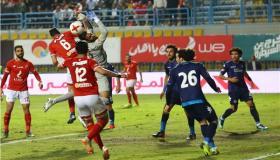 أهداف و ملخص مباراة الأهلي وبيراميدز اليوم الخميس 6-2-2020 | الدوري المصري