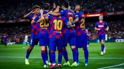 أهداف و ملخص مباراة برشلونة وايبار اليوم السبت 22-2-2020 | الدوري الإسباني