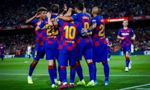 أهداف و ملخص مباراة برشلونة وايبار اليوم السبت 22-2-2020   الدوري الإسباني