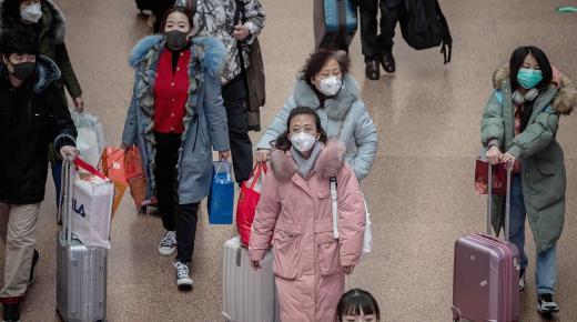 أداة لتحديد من لا يرتدي الكمامة في الصين