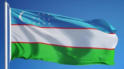 ما معنى ألوان علم أوزبكستان؟