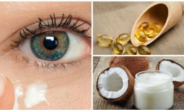 كيفية تجديد محيط العين باستخدام زيت جوز الهند؟