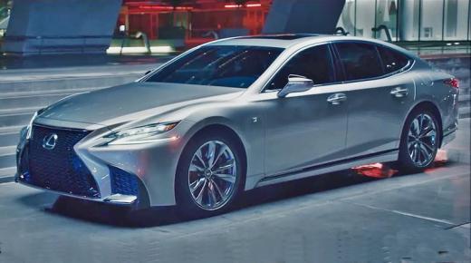 مواصفات وأسعار سيارة لكزس Lexus LS 2019 فى السعودية