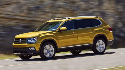 مواصفات وأسعار سيارة فولكس فاجن أطلس Volkswagen Atlas 2019 فى السعودية