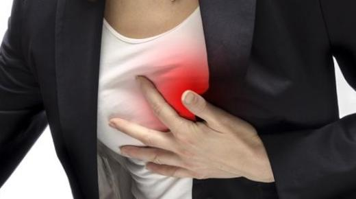 ما هي عوارض الذبحة الصدرية ؟