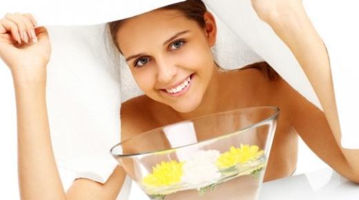 كيفية علاج حب الشباب مع حمام بخار ؟