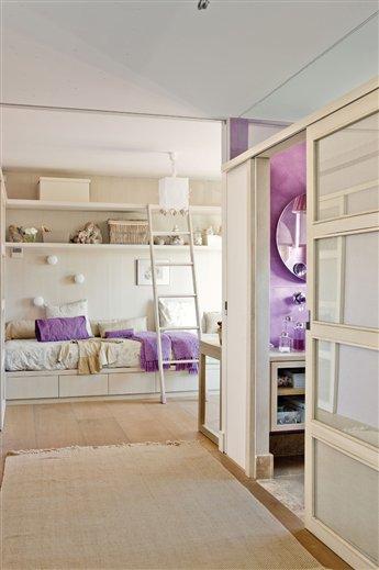 Dos hermanas dos espacios y un solo dormitorio