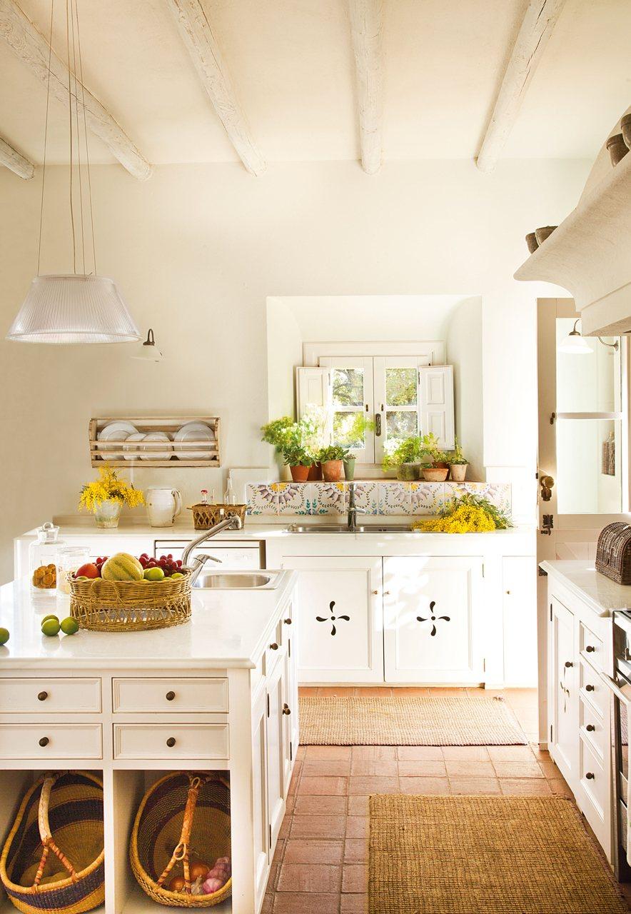 Cmo decorar una cocina de casa de campo