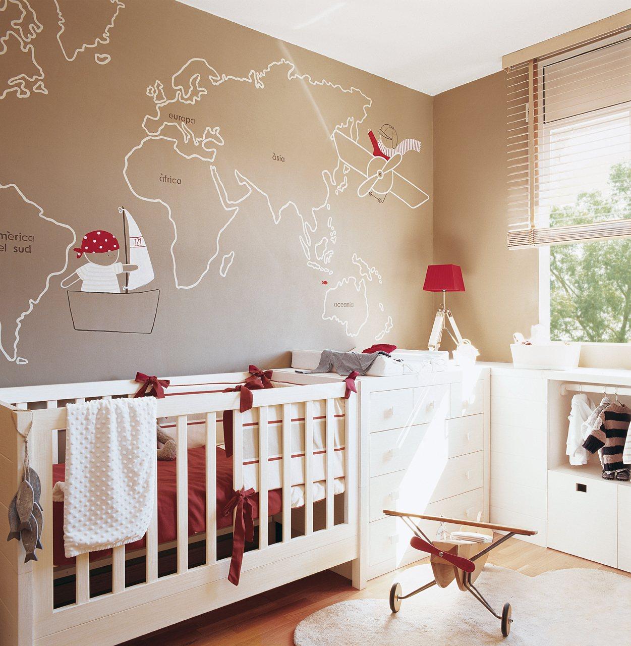 Claves de decoracin de una habitacin infantil
