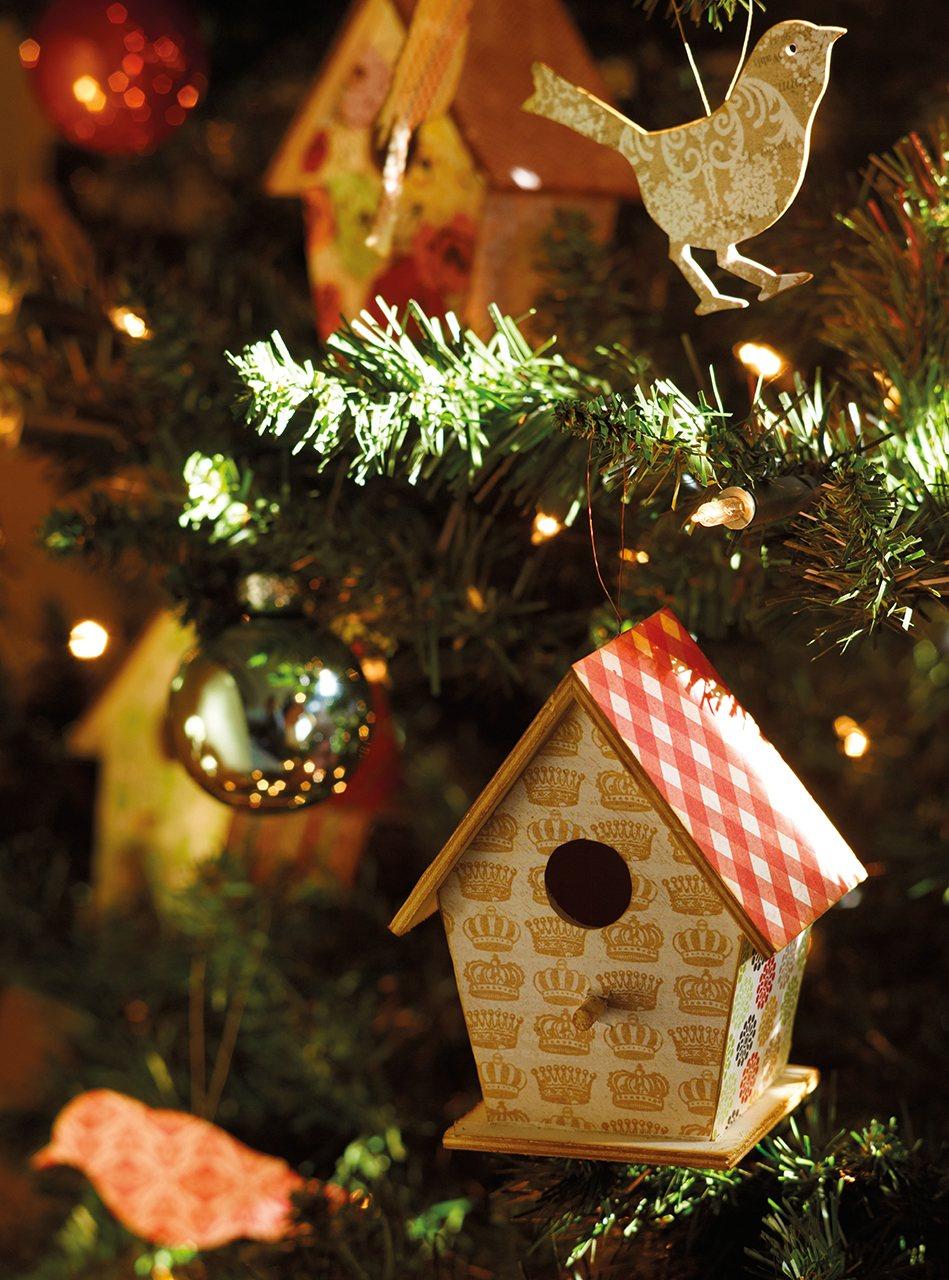 La Navidad en una antigua casa de labranza reformada