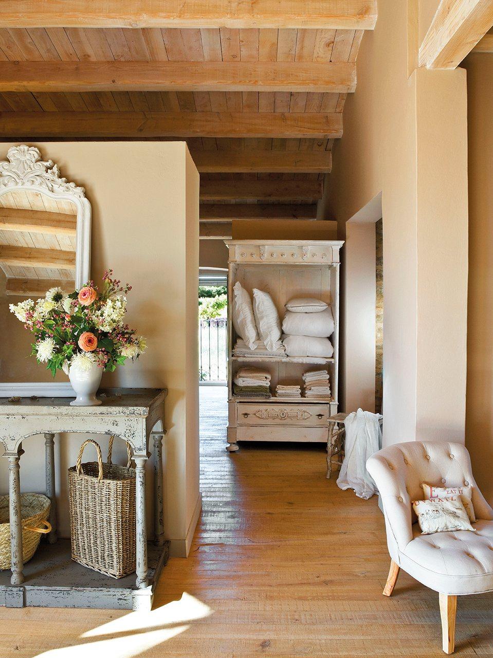Una masia reformada con aire clsico