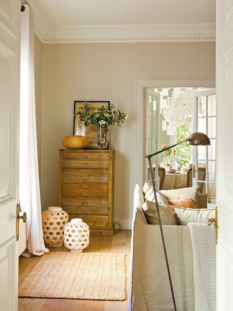 Muebles que aprovechan espacio
